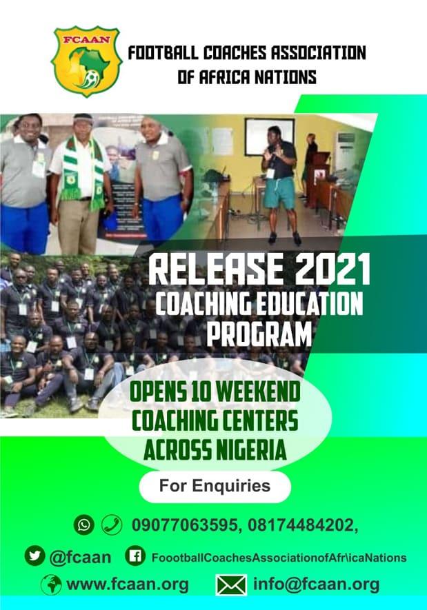 FCAAN Release 2021 Course Flyer