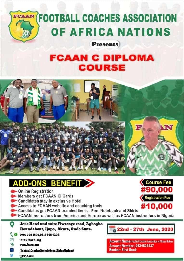 FCAAN C-Diploma Course Flyer