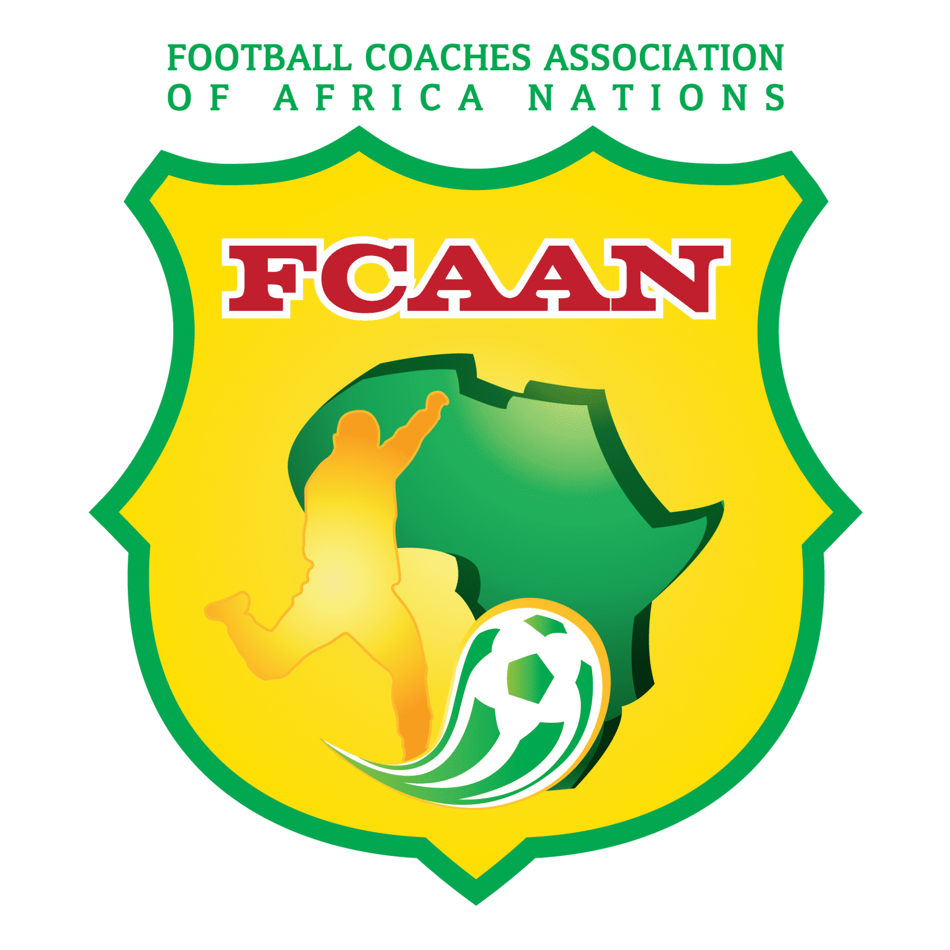 FCAAN Football Coaches Association of Africa Nations logo
